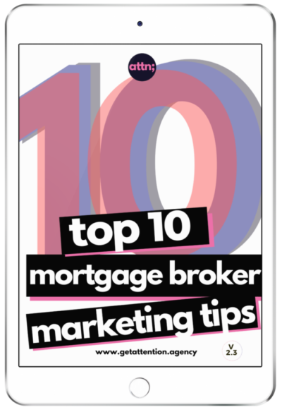 TOP 10 Mortgage Broker Marketing Tips